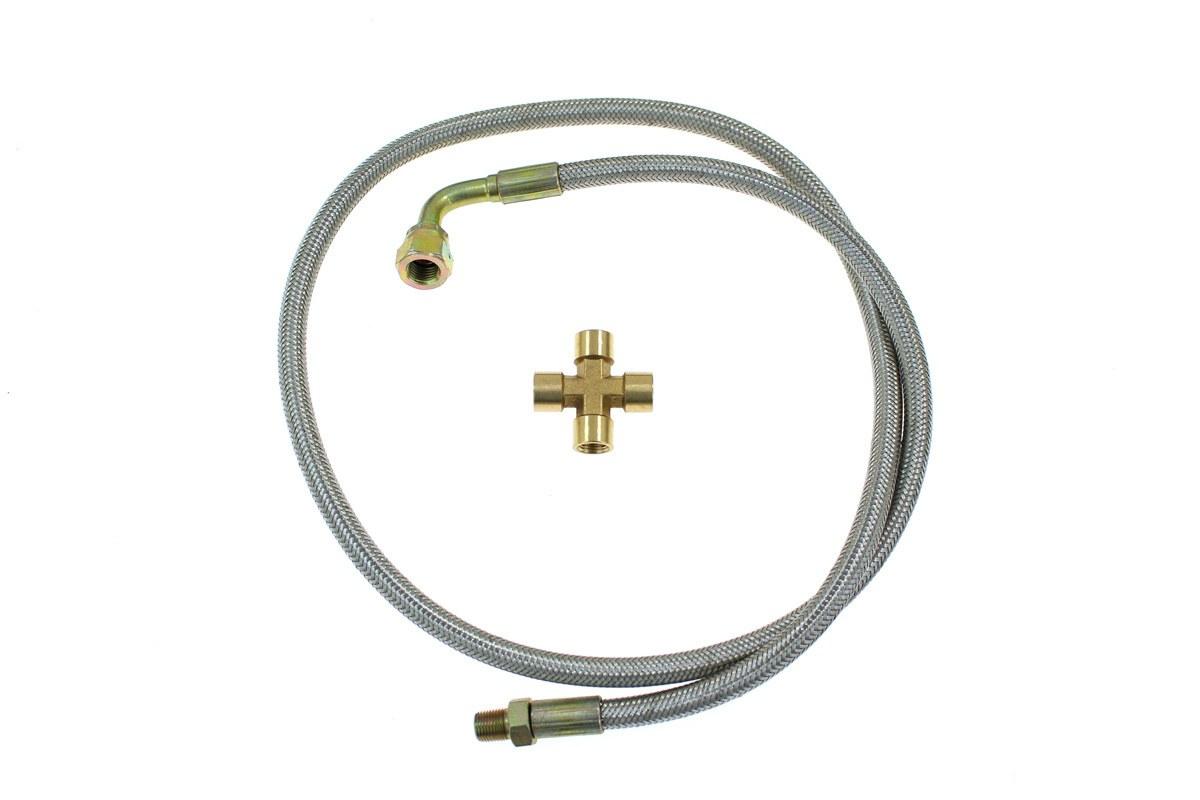 Zestaw zasilania olejem turbo T25/T28 - GRUBYGARAGE - Sklep Tuningowy